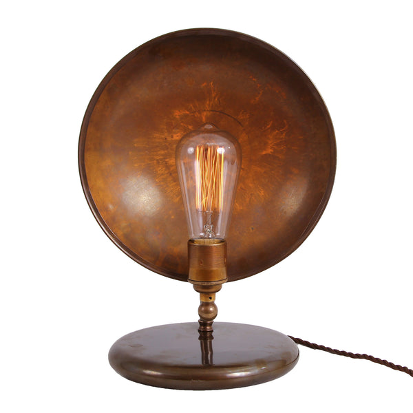 Cullen Industrial Dish Table Lamp - TheRetroStation  - 4