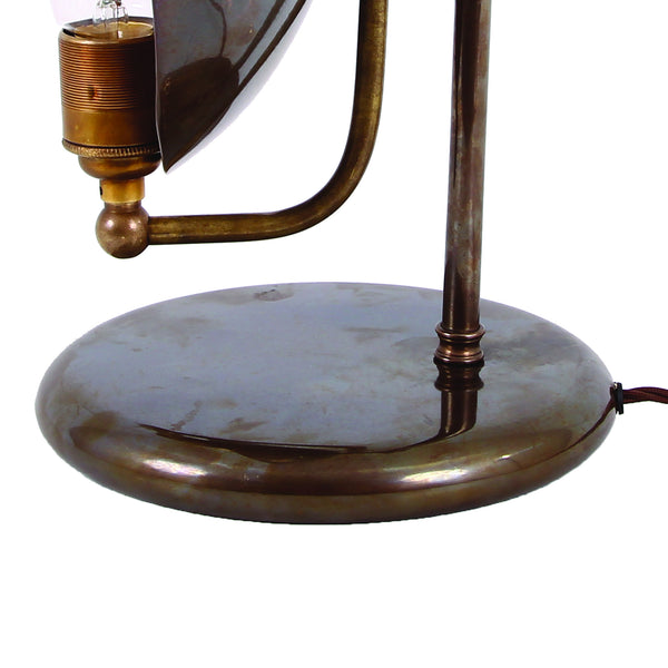 Cullen Industrial Dish Table Lamp - TheRetroStation  - 3