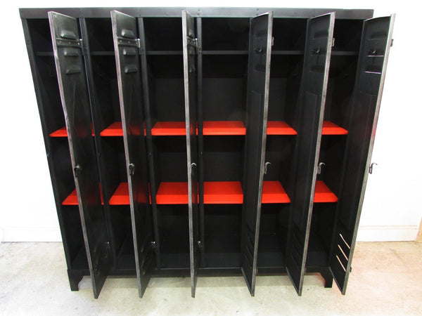 French Vintage Industrial Lockers - TheRetroStation  - 9