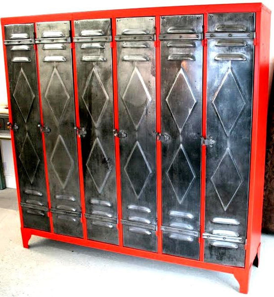French Vintage Industrial Lockers - TheRetroStation  - 10