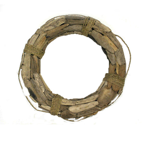 Driftwood and Rope Life Preserver