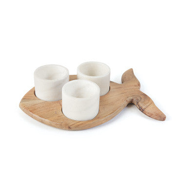 Fish Shaped Condiment Tray