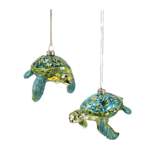 Bluefish Tree Ornaments Set of 2