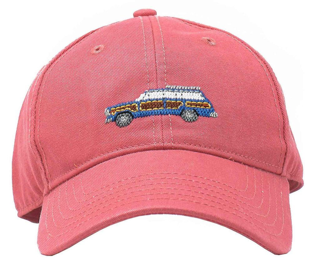 Harding Lane Grand Wagoneer on Weathered Red Baseball Hat