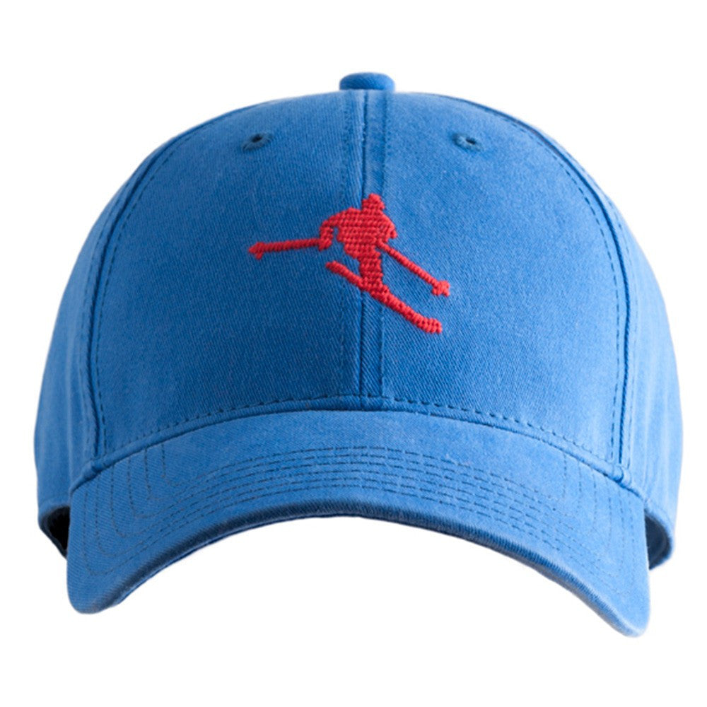 Harding Lane Skiing Baseball Cap In Blue