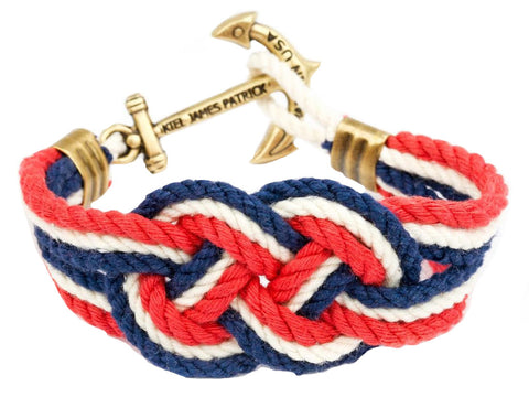 Kiel James Patrick Cape Knot Hitch Bracelet