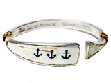 Kiel James Patrick Anchored American Bracelet