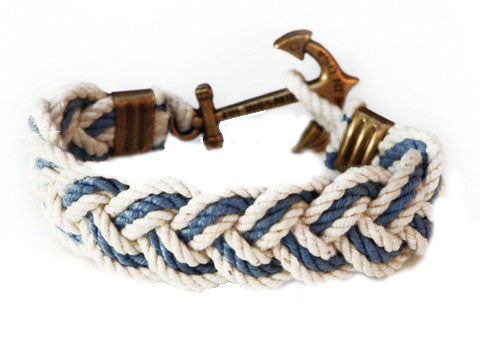 Mariner Rope Belt Navy | York River Traders