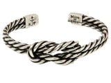 Kiel James Patrick Sailor's Luck Bracelet Silver