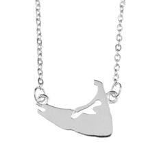 Nantucket Charm Necklace in Sterling Silver