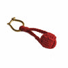 Monkey Fish Keychain in Red