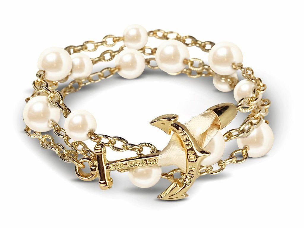 Kiel James Patrick Pearl Sailor Bracelet