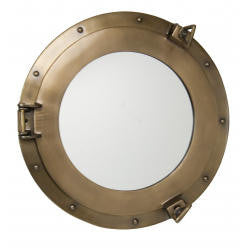 Port Hole Mirror Nickel