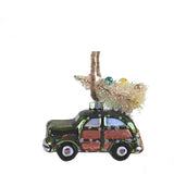 Retro Beach Car Tree Ornament