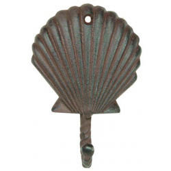 Scallop Shell Hook