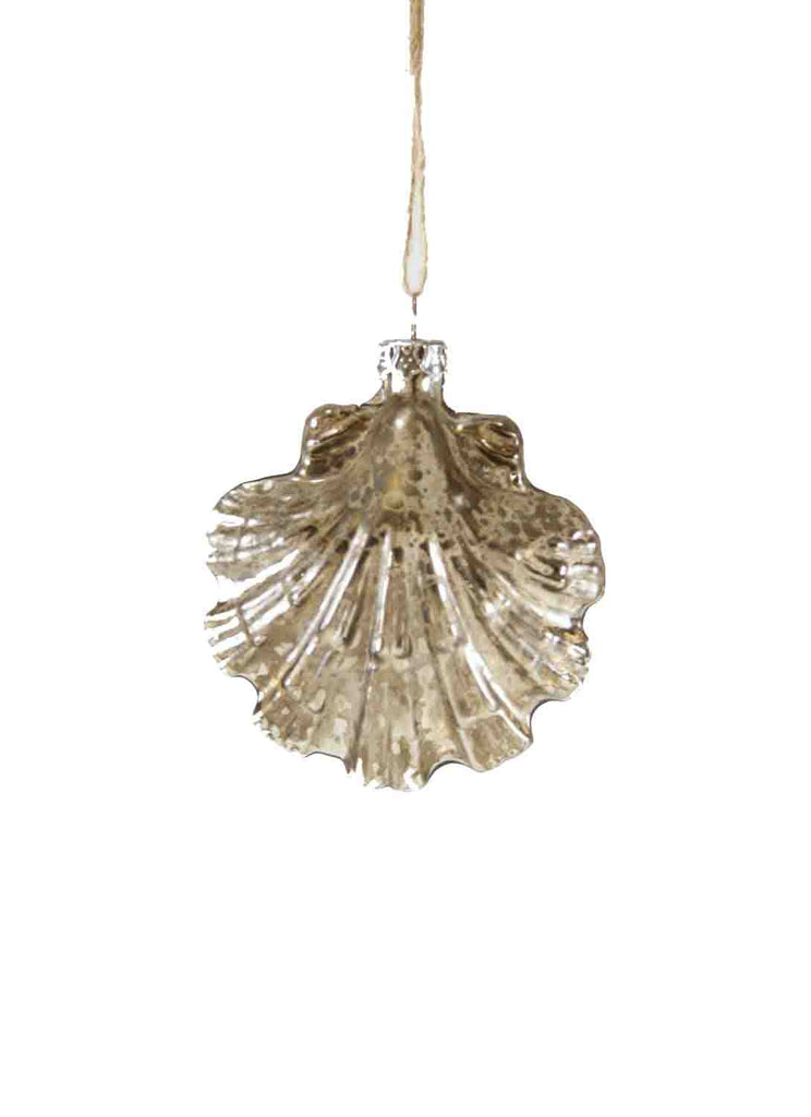 Seashell Holiday Ornament