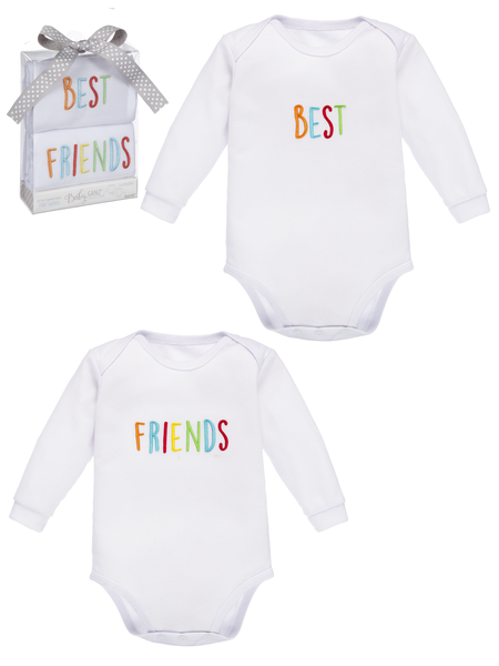 Twins Onesie Shirt Set