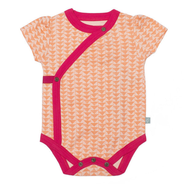 Short Sleeve Bodysuits Triangle