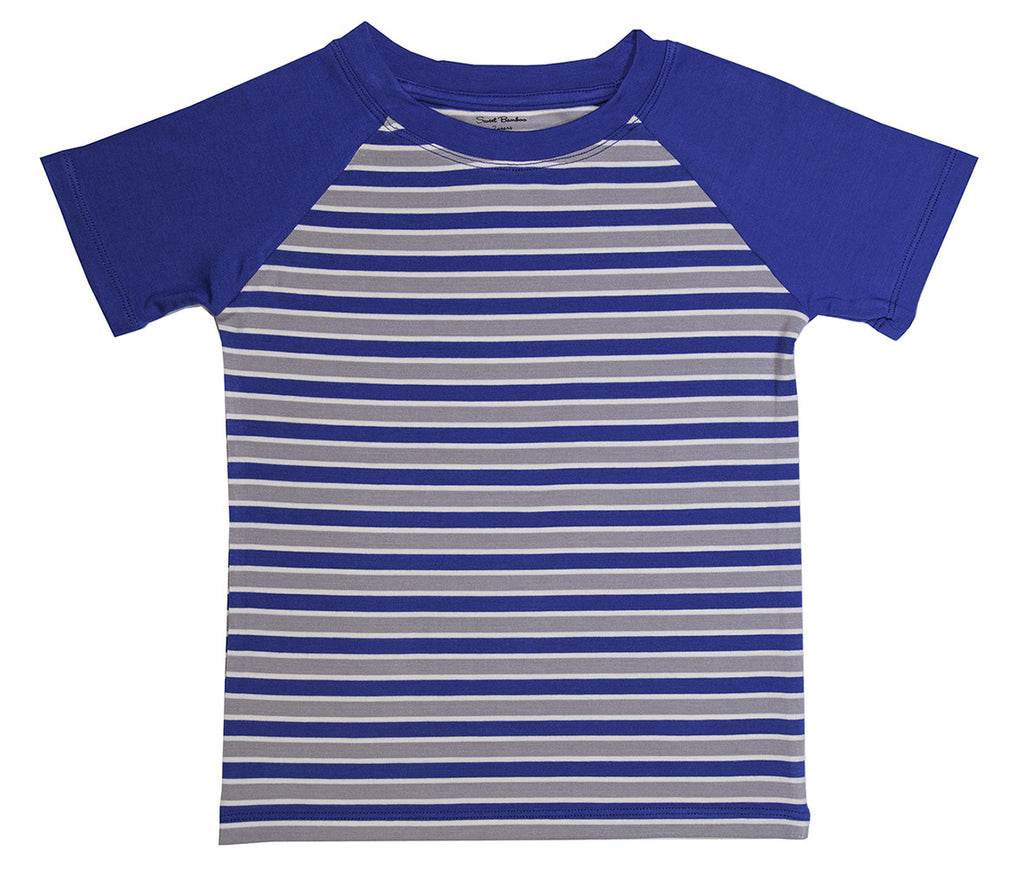 Blue Raglan T-Shirt