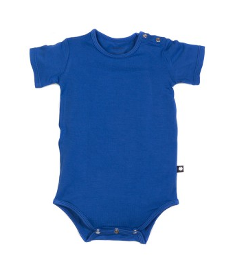 Bashful Blue Sweet Bamboo Bodysuit