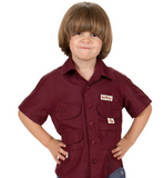 The Original Toddler Fishing SHIRT (Burgundy)
