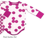 Pink Scatter Dot Bodysuit