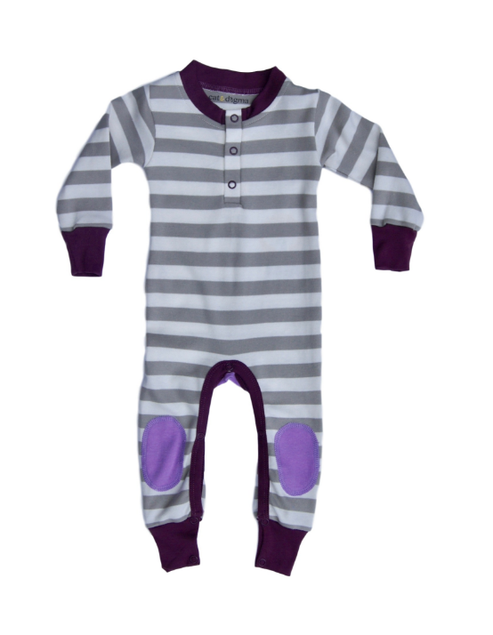 Lavender and Eggplant Playsuit