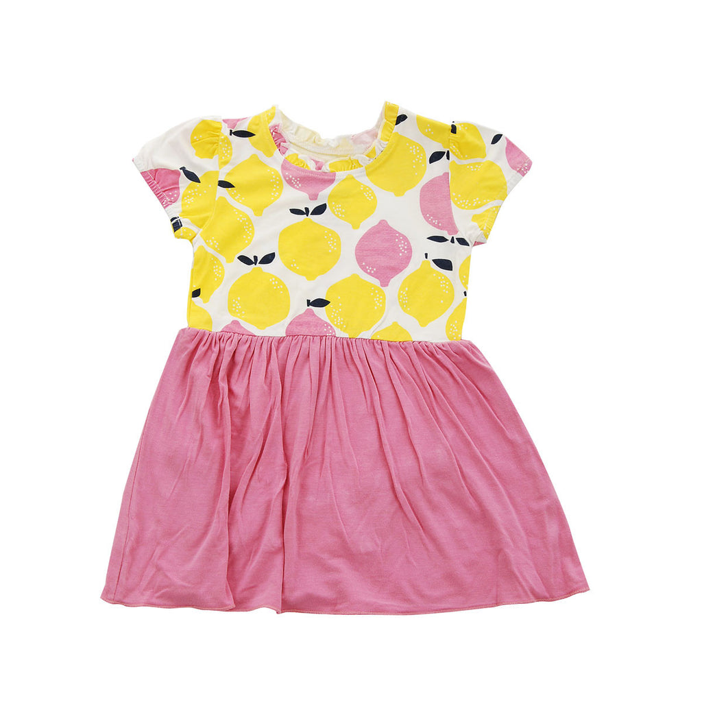 Skirted Bodysuit Pink Lemonade
