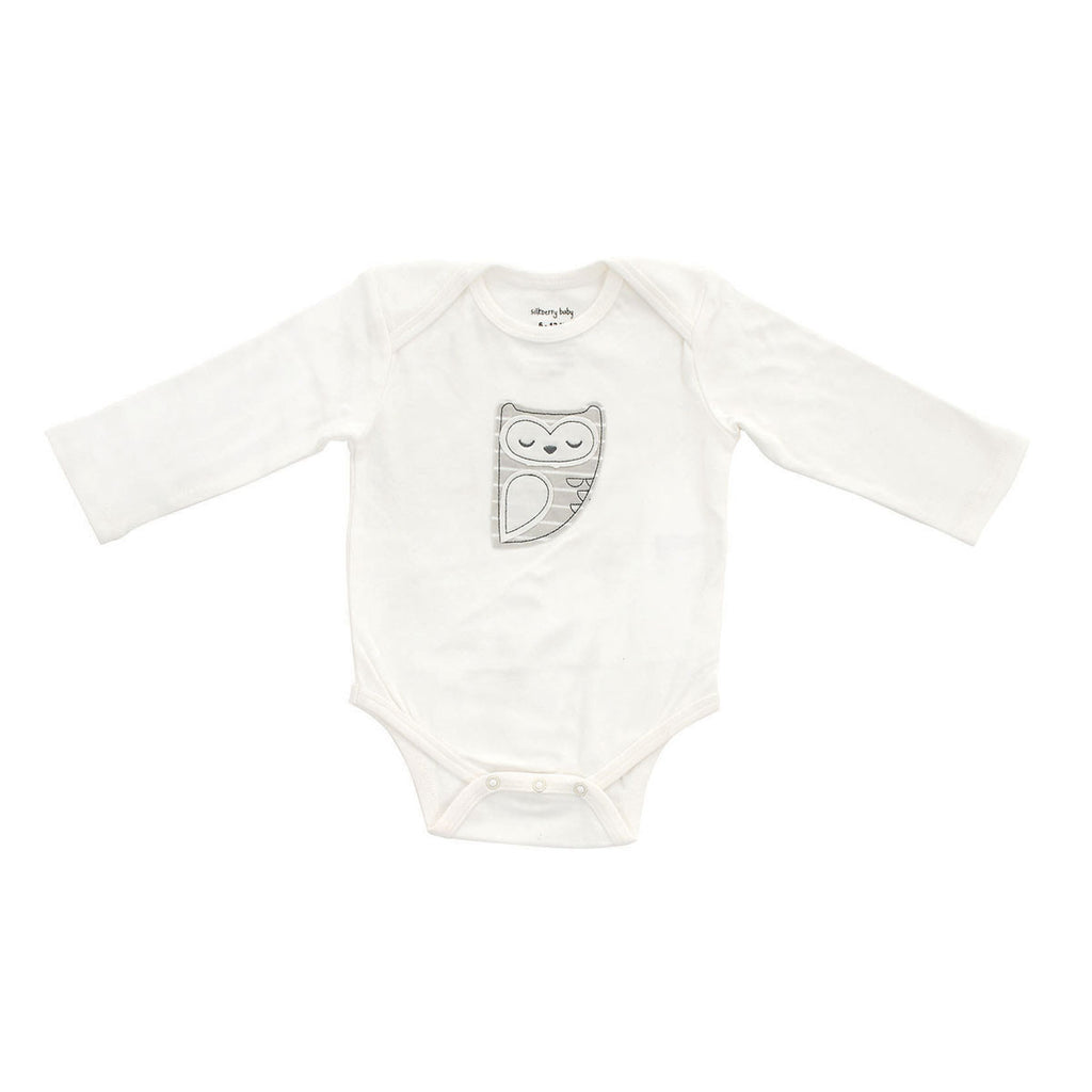 Organic Cotton Long Sleeve Onesie