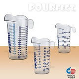 POURfect Liquid Measuring Beaker 1-2-4 Cup Made in USA