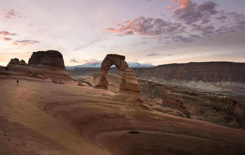 Rocky Arches in Utah National Park