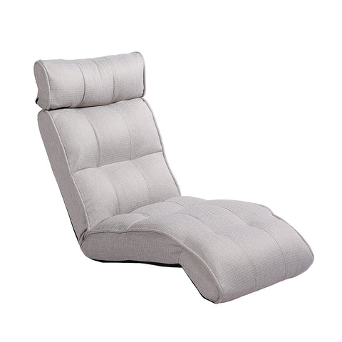Basic Floor Sofa Chair Recliner, Silver Birch