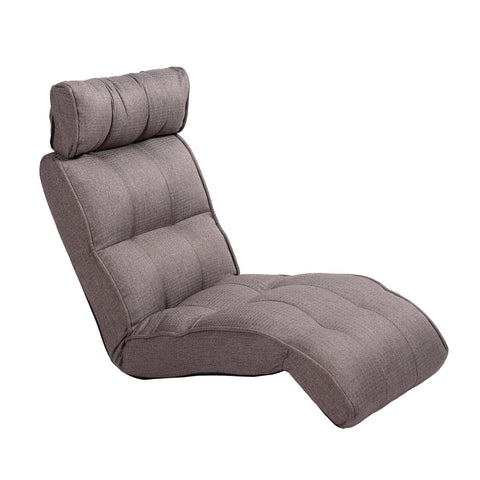 Basic Floor Sofa Chair Recliner, Olive Gray