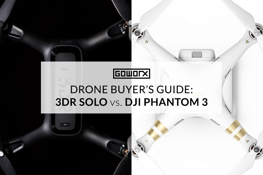 Drone Buyers Guide: 3DR Solo vs. DJI Phantom 3
