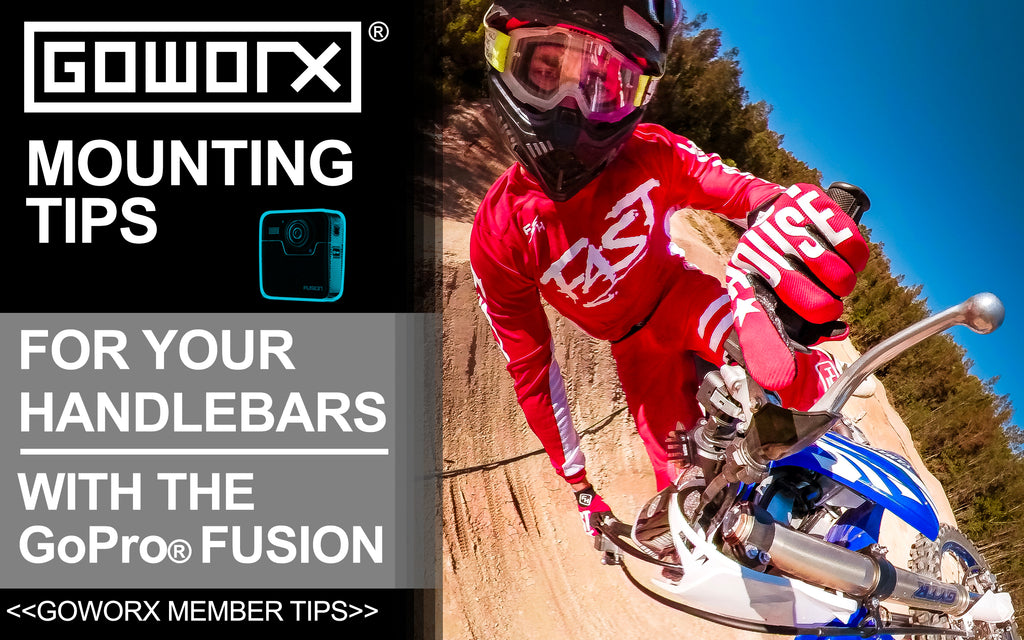 GoPro Fusion - Mounting Tips for Handlebars