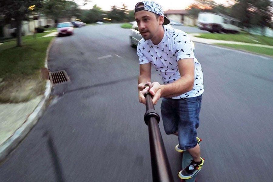MicroJib GoPro Extension Pole Review - Pan & Tilt your GoPro!