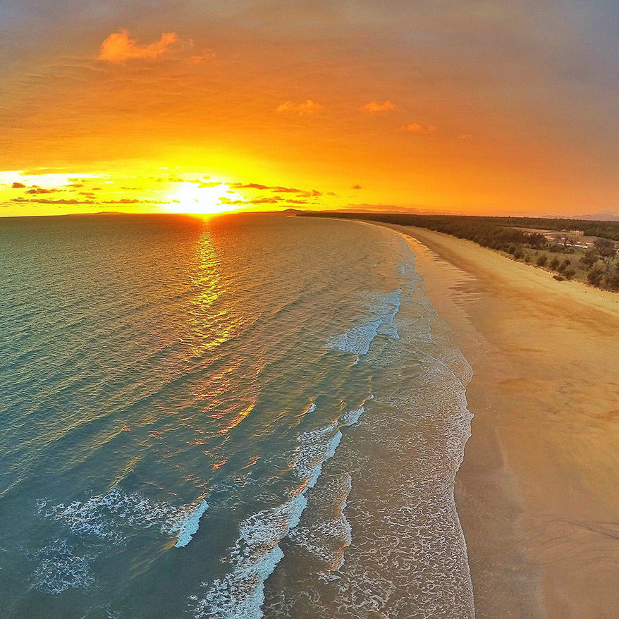 Best Drone Photos - Sunset Beach - GoWorx