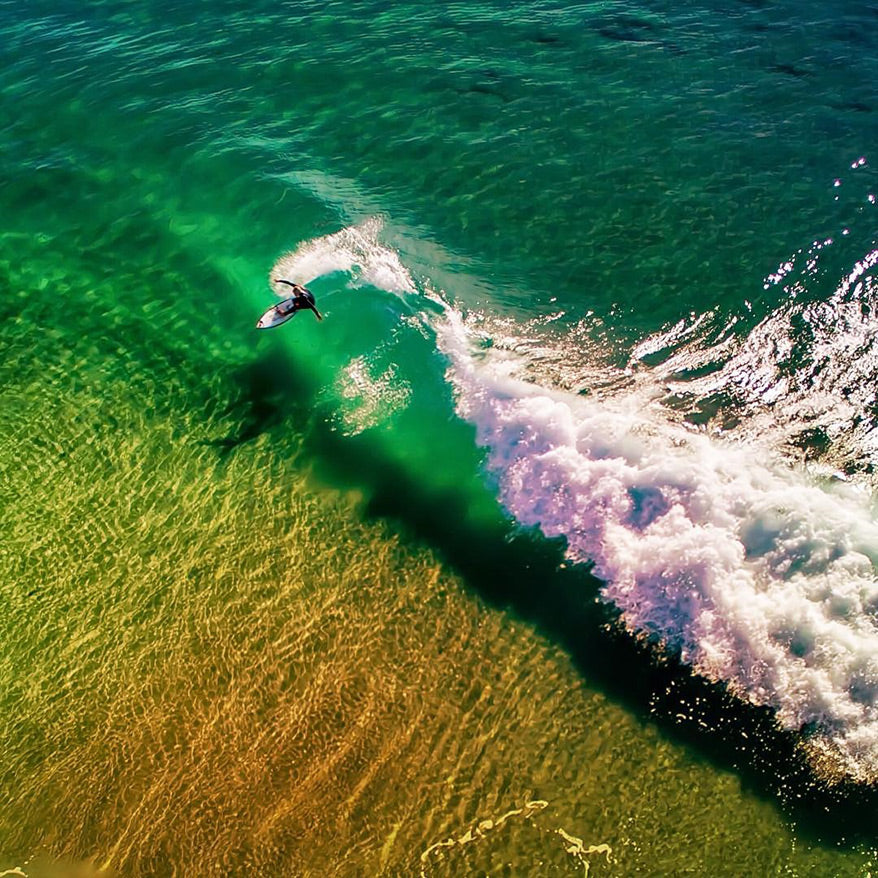 Best Drone Photos - Surfing Waves - GoWorx