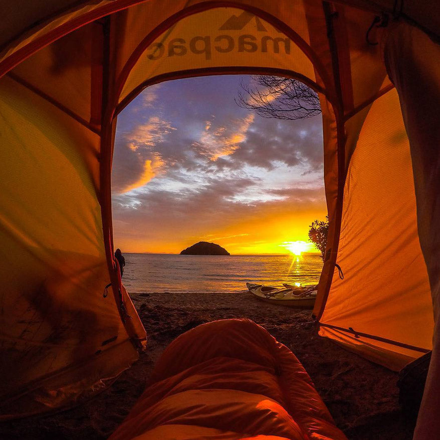 GoPro Photos - Tent on Beach - GoWorx