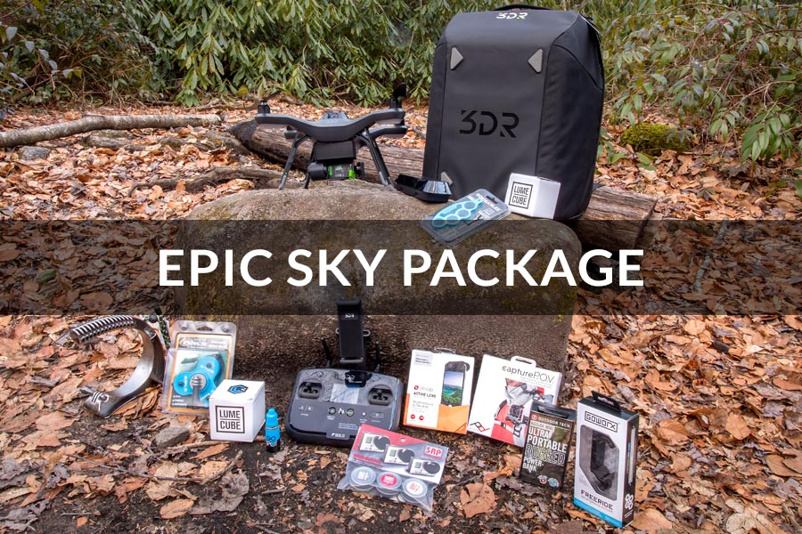 GoWorx Epic Giveaway - Epic Sky Package