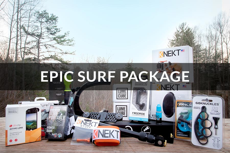 GoWorx Epic Giveaway - Epic Surf Package