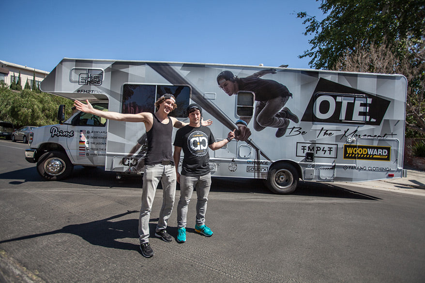 Off the edge - OTE Tour - Jesse LaFlair & Cory Demeyers - GoWorx