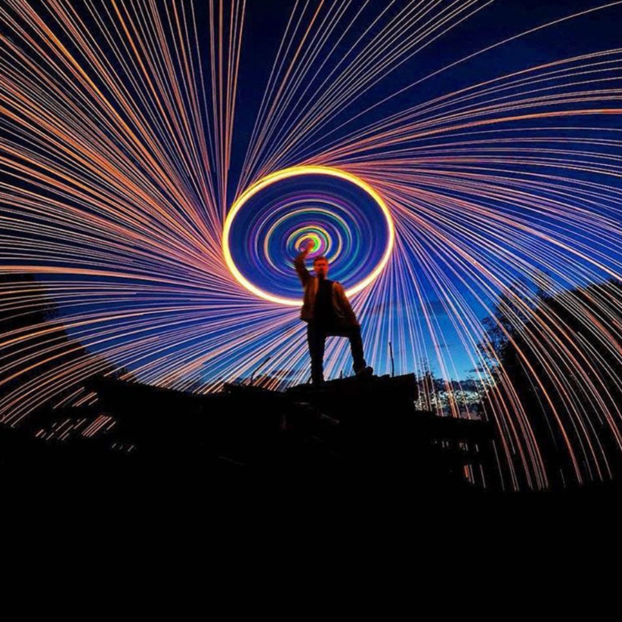 Badass Steel Wool Photography - Shot with GoPro's HERO camera | GoWorx