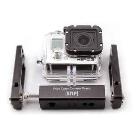 Snake River Prototyping Wide Open Camera Mount for GoPro Cameras