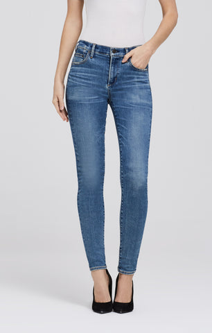 Rocket High Rise Skinny in Reyes