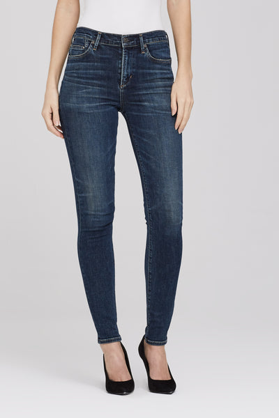 Rocket High Rise Skinny in Rival