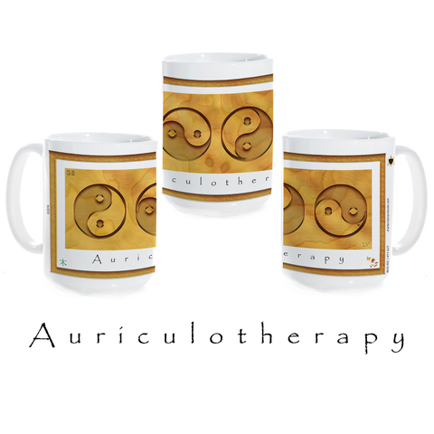 Yin Yang Coffee Mug-Wood-Auriculotherapy-Mug-Ceramic Coffee Mug