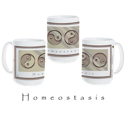 Yin Yang Coffee Mug-Metal-Homeostasis-Ceramic Coffee Mug
