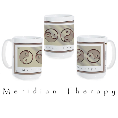 Yin Yang Coffee Mug-Metal-Meridian Therapy-Ceramic Coffee Mug