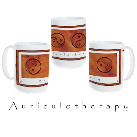 Yin Yang Coffee Mug-Auriculotherapy-Fire-Ceramic Coffee Mug